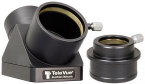 """TeleVue 2"""" 90° Everbrite Mirror Diagonal with 2"""" to 1.25"""" HiHat Adapter"""