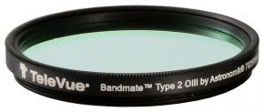 TeleVue Bandmate Type 2 H-beta Premium Visual Nebula Filter 2-Inch