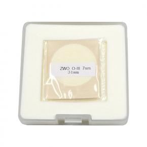 ZWO 31mm OIII 7nm Narrowband Filter - UNMOUNTED - Mark II