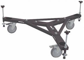 "JMI  HEAVY DUTY Medium Sized Universal Wheeley Bar with 5"" Polyurethane Wheels"
