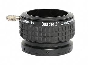 """Baader 2"""" ClickLock Eyepiece Clamp with T-thread (M42x0.75) Connection"""