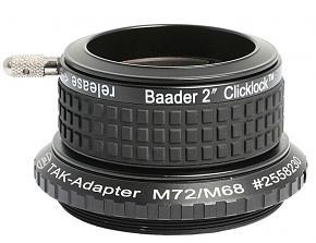 "Baader 2"" M72a ClickLock Eyepiece Clamp for Takahashi Telescopes"