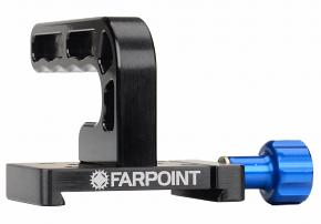"FARPOINT L-Handle with Included Farpoint Dovetail Accessory Adapter / Clamp for 3"" Rails"