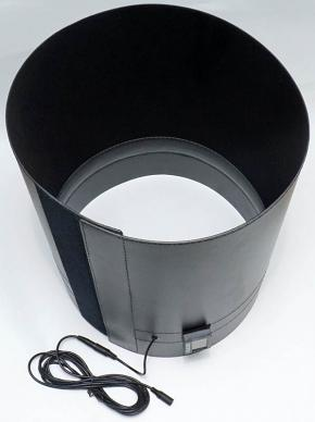 "Dew Shield - Lens Shade with Dew Heater for Celestron 9.25"" Schmidt-Cassegrain Telescopes with Controller"