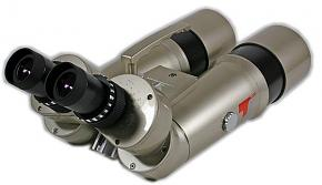 """TS Optics 70mm 45° APO Observation Binocular for 1.25"""" eyepieces with set for 16x magnification"""