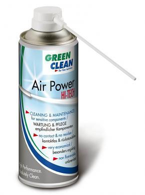 Green Clean G-2050 Air Power Hi Tech 400 ml Air Duster with One-Way Trigger