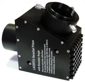 """Lacerta Brewster-angle Herschel Wedge with 48mm Prism, ND3.0, 2"""" Nosepiece and 2"""" Rotator Eyepiece Holder"""