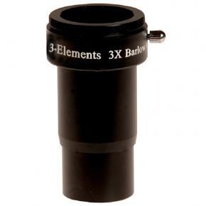 SkyWatcher X3 Barlow Lens (3-Elements)