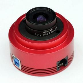 ZWO ASI290MM COOLED USB3.0 Monochrome CMOS Camera with Autoguider Port