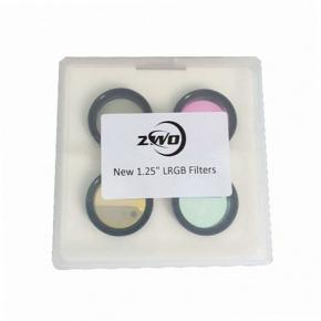 """ZWO CCD LRGB Filter-Set 1.25"""" Optimised for ZWO ASI1600 Cameras"""