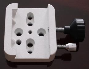 Universal Mounting Platform / Clamp - Vixen Compatible - WHITE