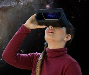 universe2go Personal Planetarium Device and Smartphone App