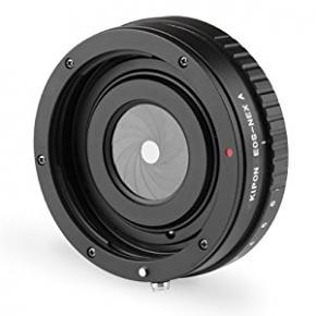KIPON Canon EOS Lens to Sony NEX E-Mount Adapter with Manual Aperture Control
