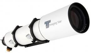 TS APO130Q Imaging Star 130mm f/5.0 Sextuplet 6-Element Flatfield Imaging APO Refractor Telescope - 42mm Field Diameter for FULL FRAME Camera Sensors