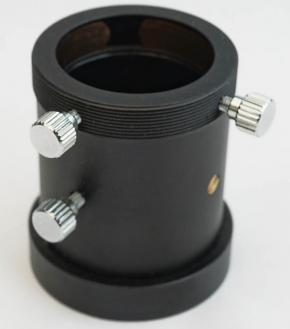 """365Astronomy 1.25"""" Non-rotating Pull-Out Fine Focuser with Female T-thread with 10mm Focus Travel"""