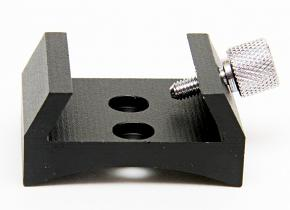 SkyWatcher Shoe for Finderscope Bracket with 2 Holes CURVED BLACK