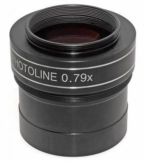 """TS-Optics PHOTOLINE 2"""" 0.79X  4-element Reducer and Field Flattener / Corrector for Astrophotography"""