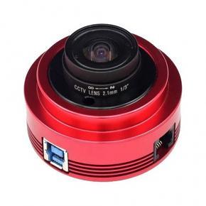 "ZWO ASI120MC-S USB3.0 Colour 1/3"" CMOS Camera with Autoguider Port - BLACK FRIDAY"