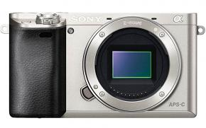 Sony Alpha a6000 Compact System Camera BODY ONLY - SILVER - EX DEMO