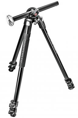 Manfrotto MT290DUA3 290 DUAL Aluminium 3-Section Camera Tripod with 90° Column- CLEARANCE