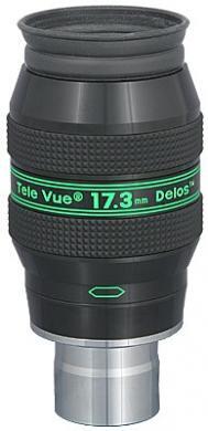 """TeleVue Delos 17.3mm Eyepiece, 72-degrees, 1.25"""""""