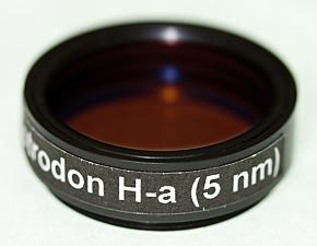 """Astrodon Narrowband Filters - H-alpha 5nm - 1.25"""" Mounted"""