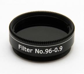 "365Astronomy ND09 Neutral Density Filter with 13% Transmission, 1.25"", M28, ND96-0.9"