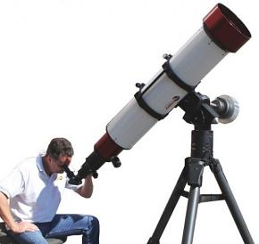 Lunt LS230THa/B3400 230mm H-Alpha Solar Telescope, B3400, Feather Touch, Pressure Tuner