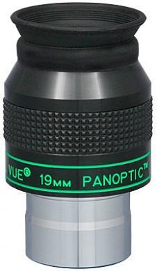 "TeleVue Panoptic 19mm Eyepiece, 68-degrees, 1.25"""