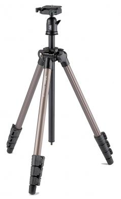 Velbon SHERPA 50 Compact Travel Tripod with QHD-33M Ball & Socket Head -clearance