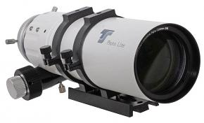 """TS-Optics Photoline 72mm Doublet APO Refractor 72/432mm f/6 FPL53 and Lanthanum APO with 2.5"""" Dual Speed Rack & Pinion Focuser"""