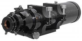 "TS-Optics Photoline 80mm Triplet APO Refractor 80/500mm f/6.25 FPL53 APO - 2.5"" Dual Speed Rack & Pinion Focuser - Carbon Fiber"