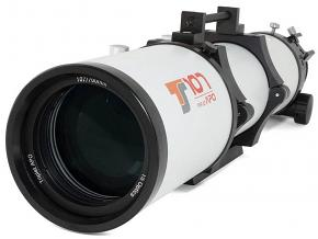 "TS-Optics Photoline 107mm f/6.5 Triplet FPL53 APO with 3"" Dual Speed Rack & Pinion CNC Focuser"