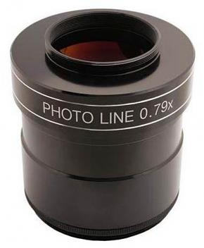 "TS-Optics PHOTOLINE 3"" 0.79X  3-element Reducer and Field Flattener / Corrector for Astrophotography"