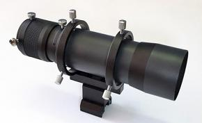 """APM 60mm Finderscope / Guidescope Kit - Straight Version with 1.25"""" Helical Focuser"""