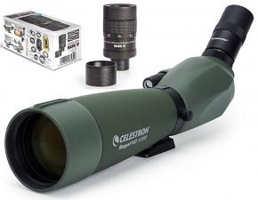 Celestron 27x LER (Long Eye Relief) Regal M2 80ED XLT Spotting Scope with Baader Hyperion Mk IV 8-24mm Zoom Eyepiece