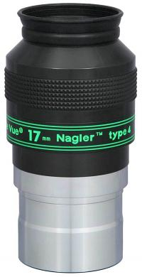 "TeleVue Nagler (Type-4) 17mm Eyepiece, 82-degrees, 2"""