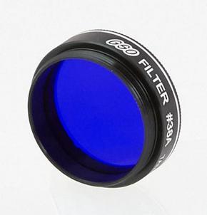 "Castell #38A Dark Blue Planetary Filter 13% Transmission -  1.25"""