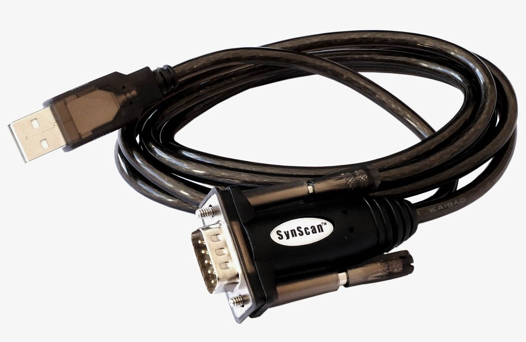 Skywatcher Synscan USB to Serial (RS-232) Converter Cable