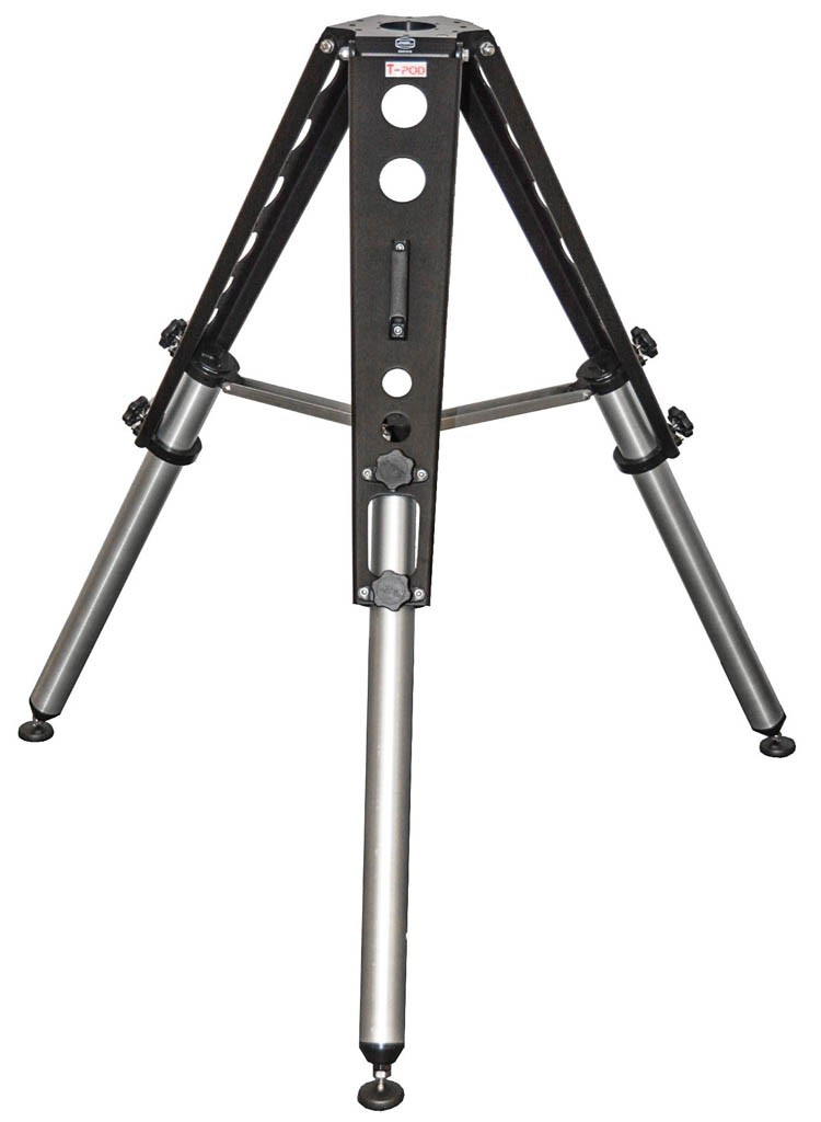 Baader T-Pod Heavy Duty Aluminium Tripod with Carrying Bag, 95-130cm, 100kg Payload