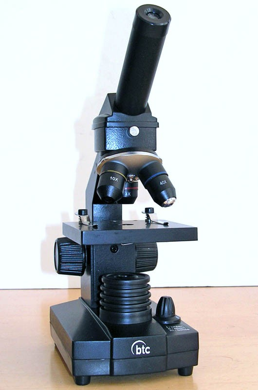 BTC Student-12 Dual LED Biological Inspection Microscope 40x - 640x