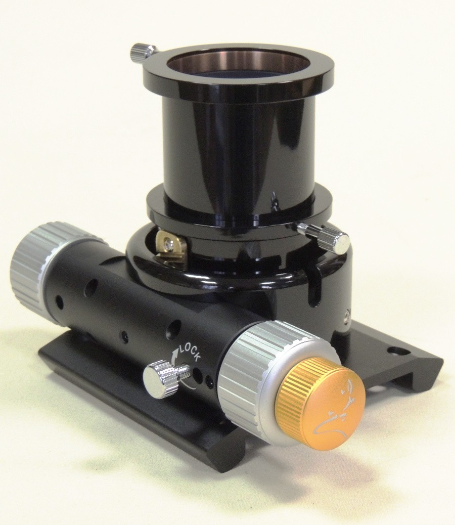 Lacerta Extra Low Profile Rack and Pinion Precision Dual-Speed Focuser  1 25