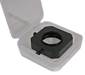 White Transparent Plastic Filter Case 92x92mm, 25mm depth