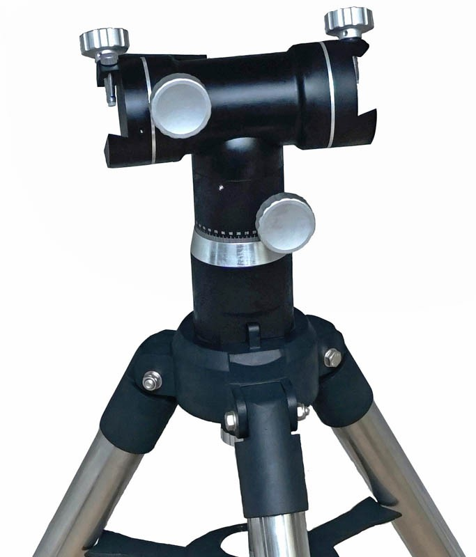 365Astronomy Giant Alt-Azimuth Telescope Mount with Stainless Steel Tripod