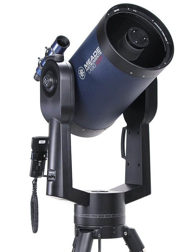 """Meade 10"""" LX90-ACF (f/10) ACF Telescope with UHTC with Computerised Mount but WITHOUT Tripod"""