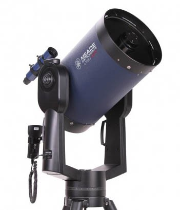 "Meade 12"" LX90-ACF (f/10) ACF Telescope with UHTC with Computerised Mount and Tripod"