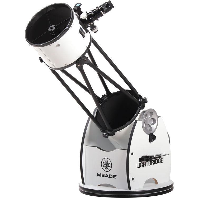 "Meade LightBridge 10""/254mm Dobsonian Reflector Telescope"