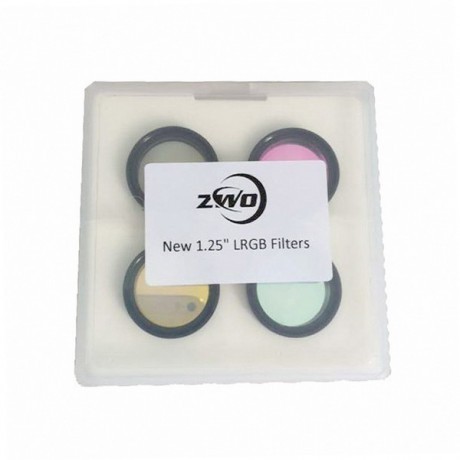 "ZWO CCD LRGB Filter-Set 1.25"" Optimised for ZWO ASI1600 Cameras"