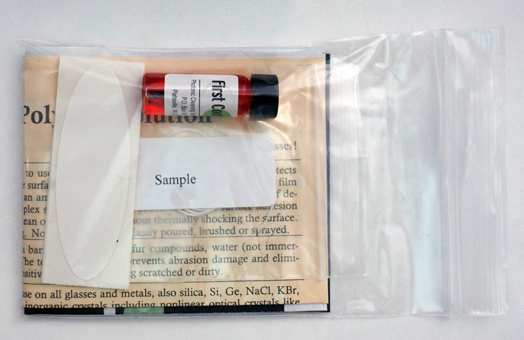 Photonic Red First Contact Cleaning Solution SAMPLE Kit