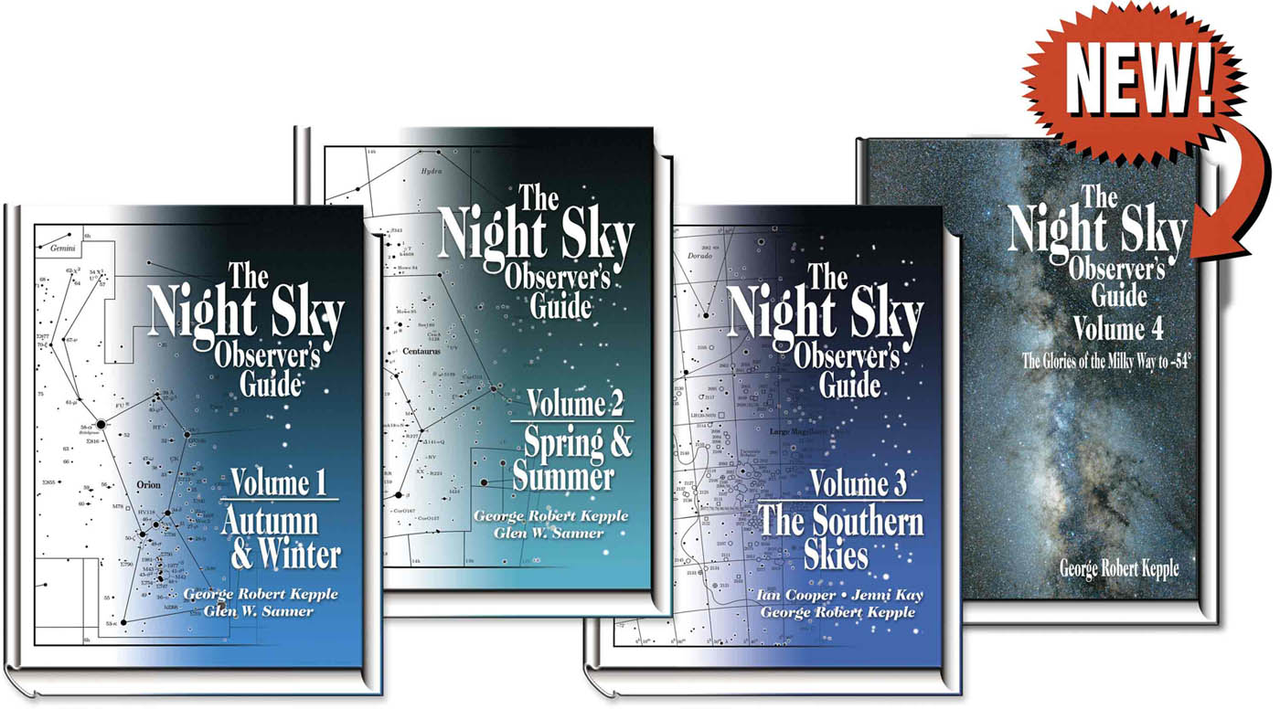 The Night Sky Observer's Guide Volume 4 - The Glories of the Milky Way to  -54°